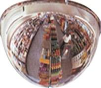Зеркало для помещений купольное 600 мм