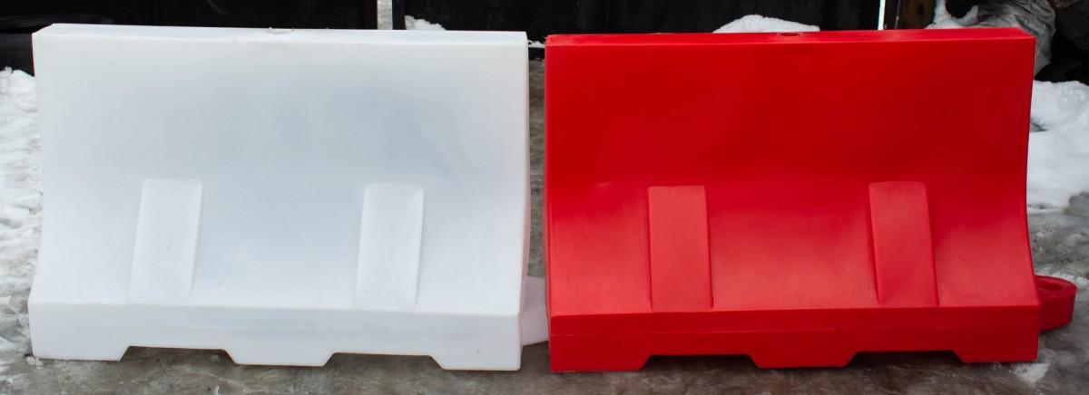 Пластиковый водоналивной барьер 1200*500*750 мм