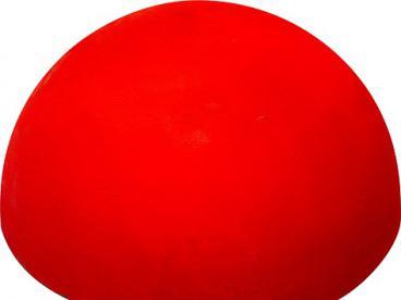 Полусфера бетонная неон (красная, зеленая лимонная) d500х240 мм