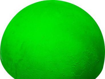Полусфера бетонная увеличенная неон (красная, зеленая, лимонная) d500х340 мм