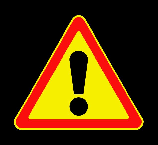 """Маска дорожного знака """"Прочие опасности"""" 1.33 (временный)"""