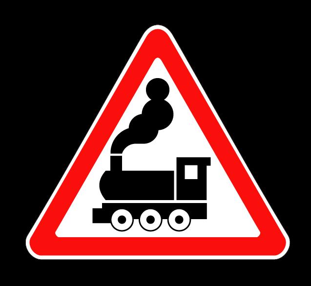 Железнодорожный переезд без шлагбаума 1.2
