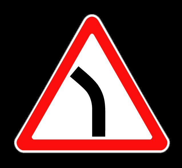 Опасный поворот (левый) 1.11.2