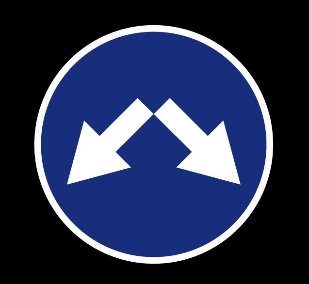 Объезд препятствия справа или слева 4.2.3