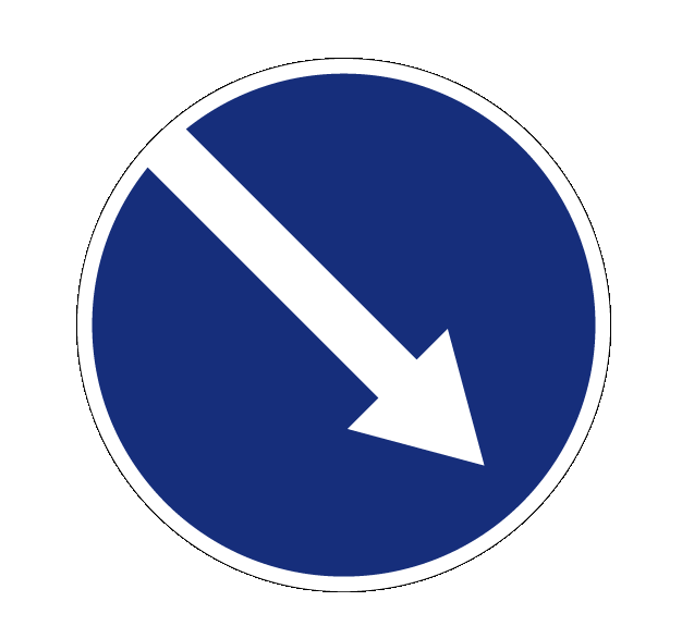 Объезд препятствия справа 4.2.1