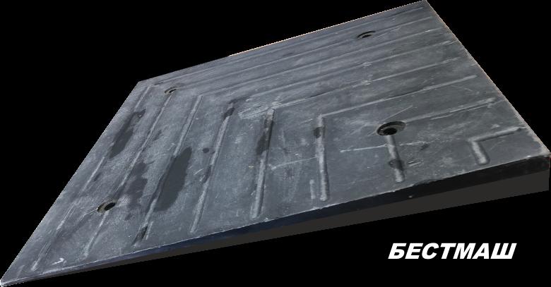 Угловой элемент ПИН (чёрный), 500*500*50 мм, вес 12 кг