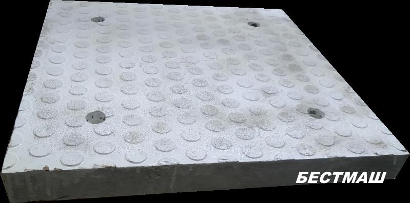 Серединный элемент белый, 500*500*50 мм, вес 18 кг