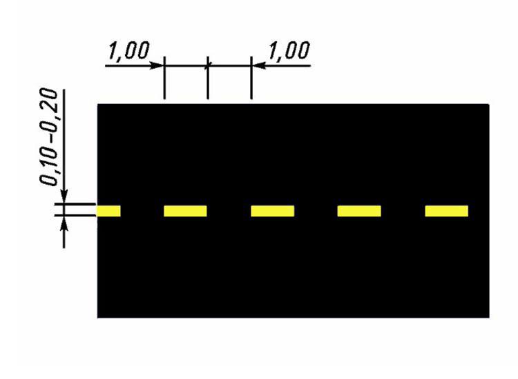 Прерывистая линия (1.10)-склады