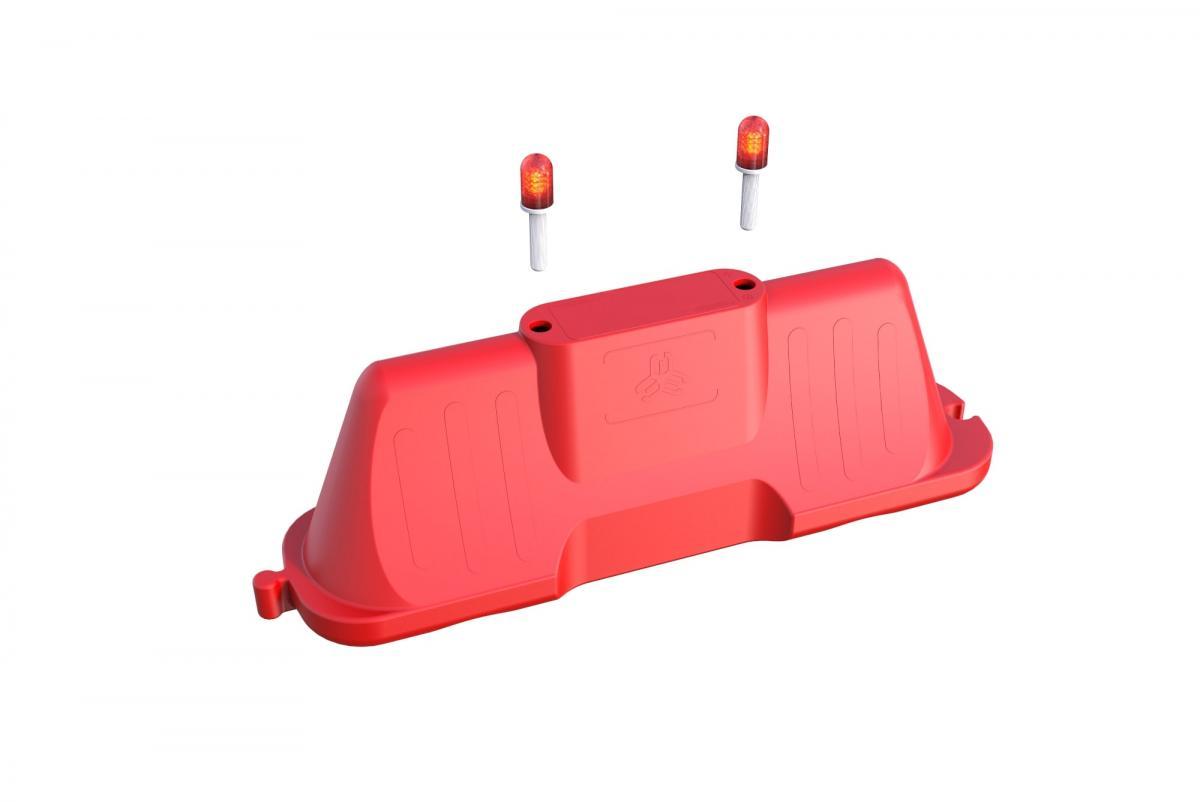 Пластиковый водоналивной барьер 2000-500-800 мм