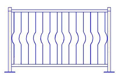 Метизы для ограждений ПО-Ж-01, комплект (вар.2)