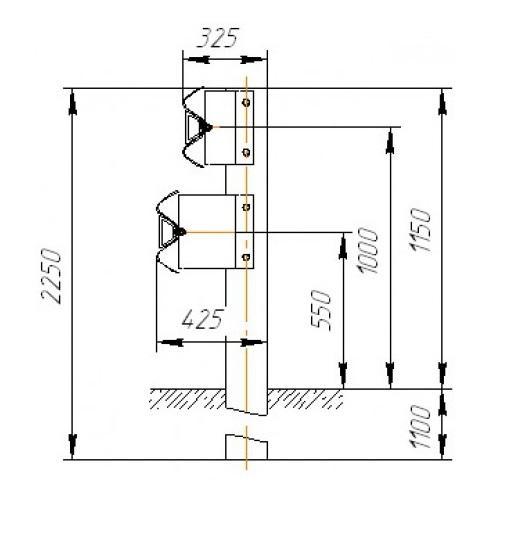 21ДО/400-1,15Х2,0М-0,9(1,1)(#СБ-2/СБ-2а)/СТО 006 – 1км