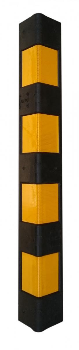 Демпфер угловой полимерный прямой 800х100х10