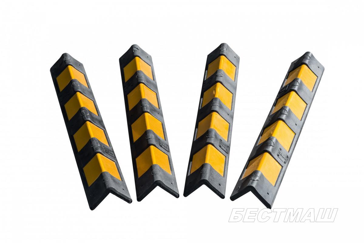 Демпфер угловой полимерный прямой  900х100х10