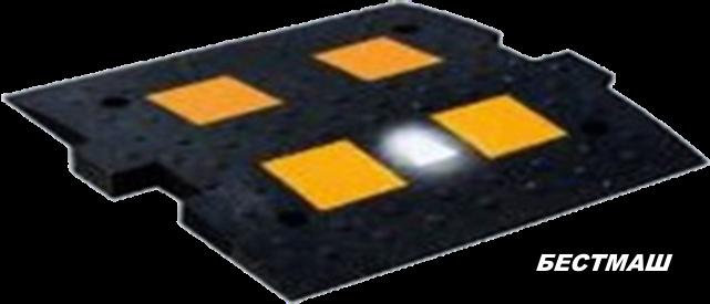Светодиодный серединный элемент полимерный, 900*500 мм