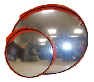 Дорожное сферическое зеркало уличное D600мм