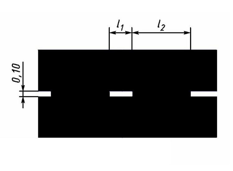 Прерывистая линия (1.2.2) холодным пластиком