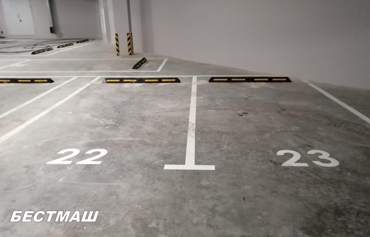 Направление движения (1.18) на парковках